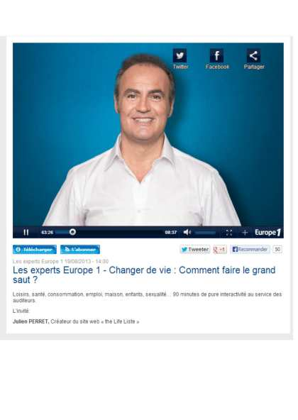 Europe1 les experts