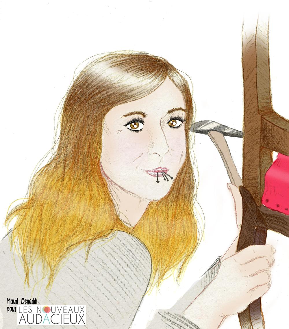 Matériel De Tapissier D Occasion valérie, artisan-tapissier : « aujourd'hui, j'ai enfin le