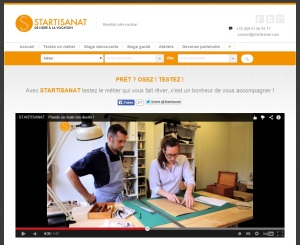 Homepage Startisanat