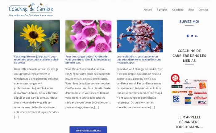 Homepage site BérangereTouchemann